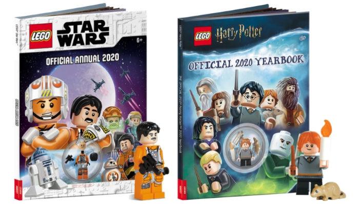 LEGO Star Wars en LEGO Harry Potter doe-boeken opgedoken
