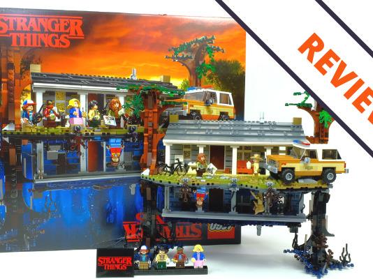 LEGO Stranger Things 75810 The Upside Down Header