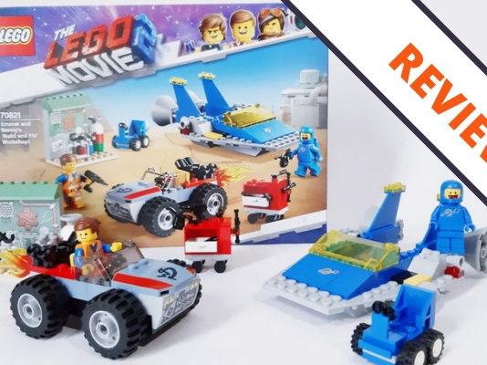 LEGO TLM2 70821 Emmet and Benny's 'Build and Fix' Workshop!