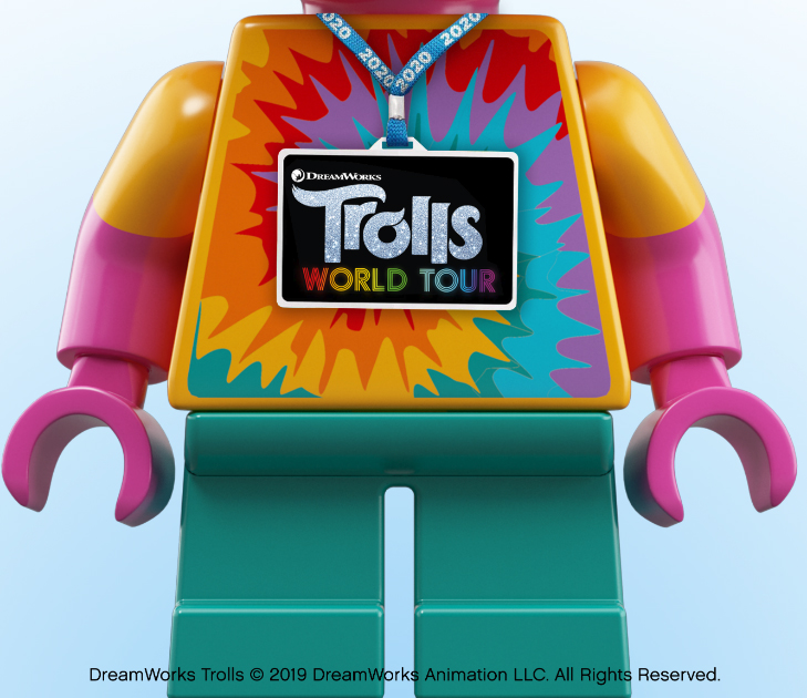 LEGO Trolls World Tour sets in 2020