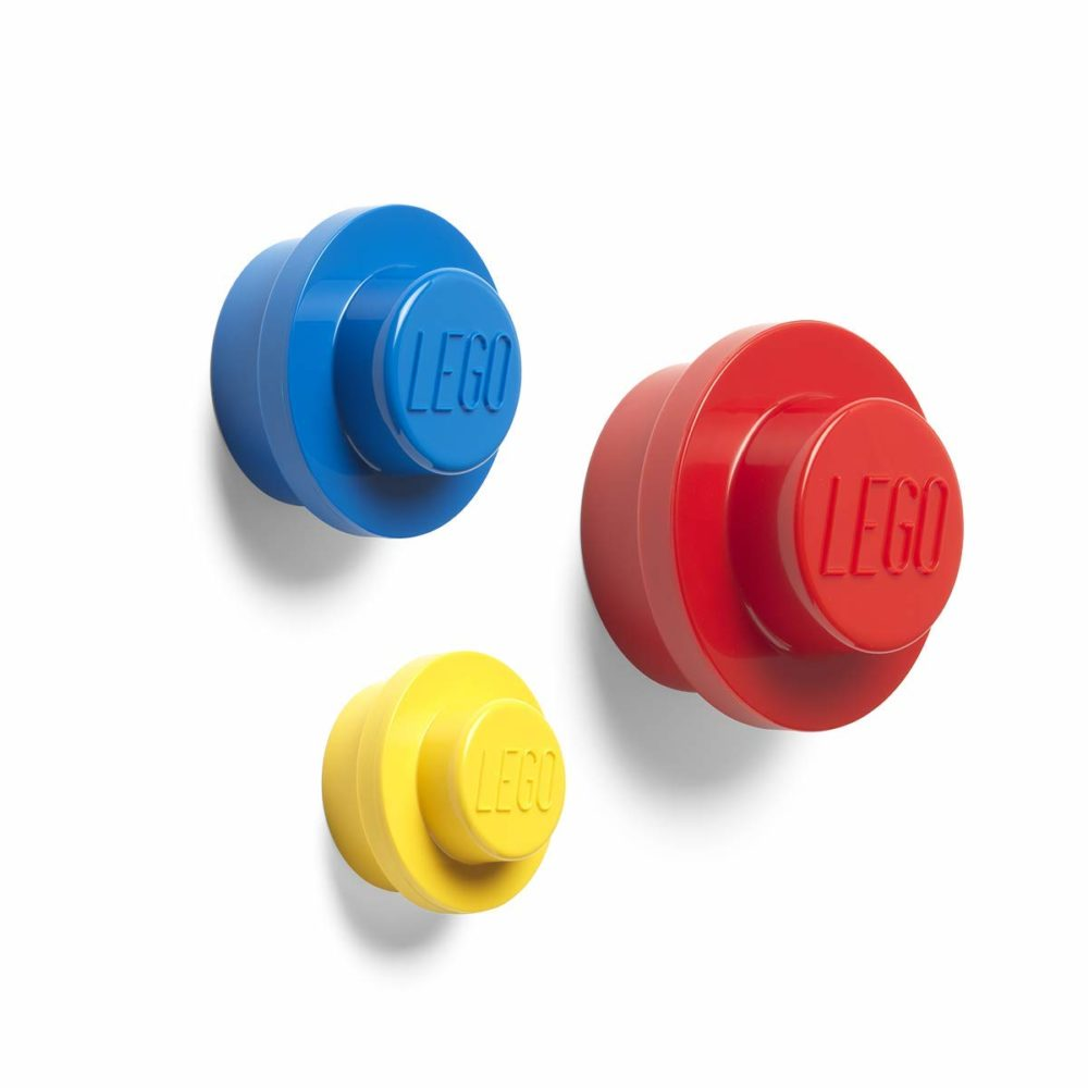LEGO Wall Hanger Red, Yellow, Blue