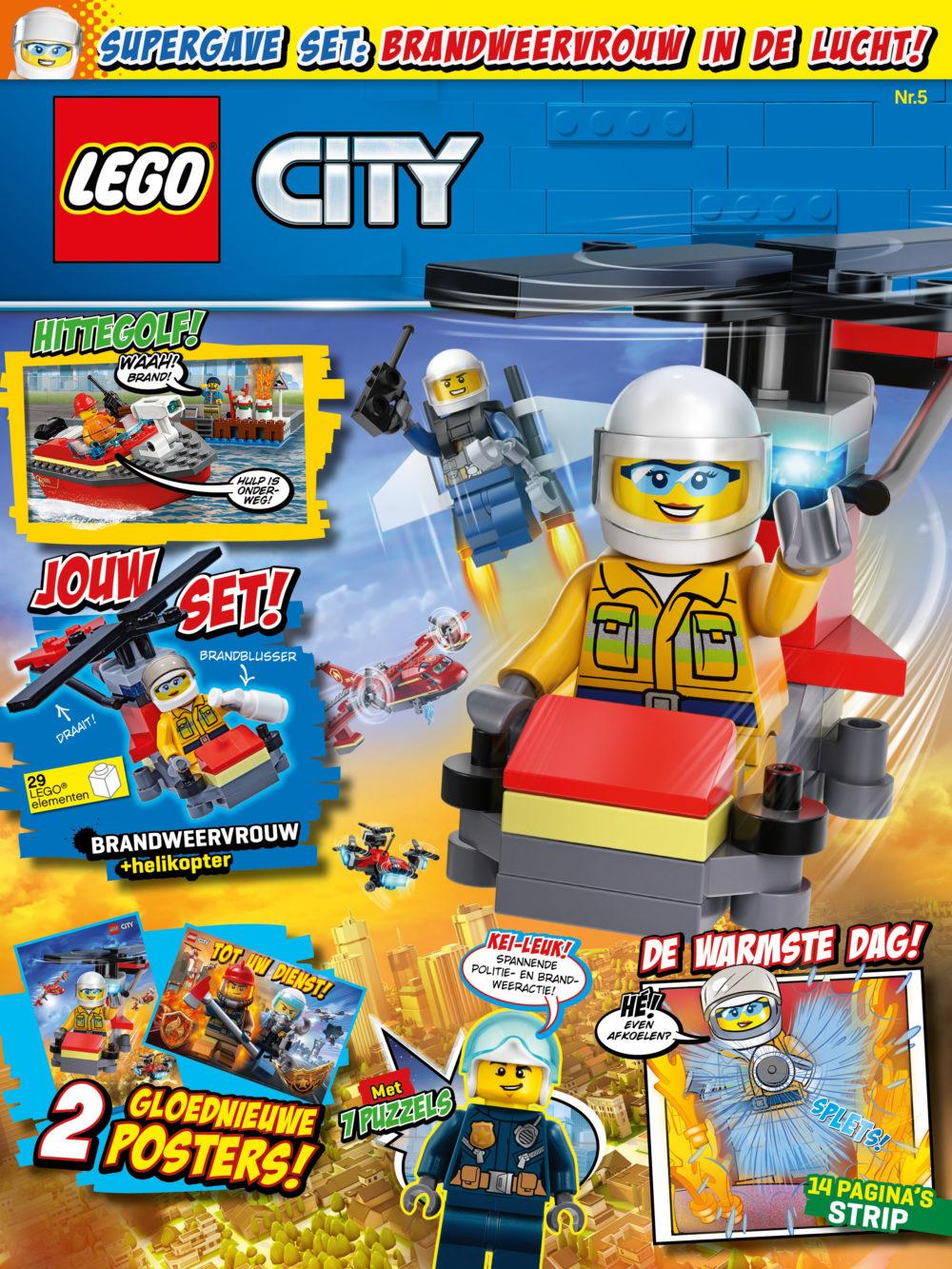 LEGO City magazine nummer 5 2019