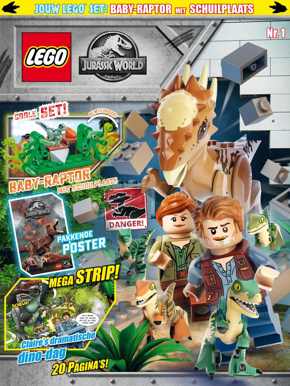 LEGO Jurassic World magazine nummer 1 2019