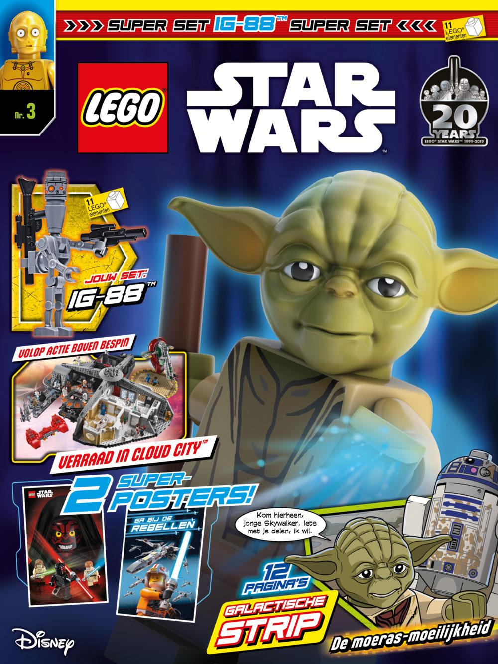 LEGO Star Wars magazine nummer 3 2019