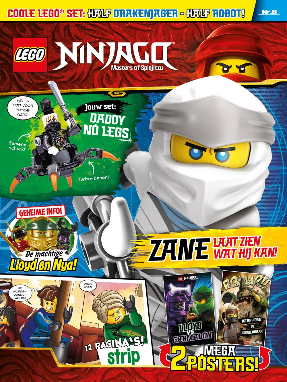 LEGO NINJAGO magazine nummer 6 2019
