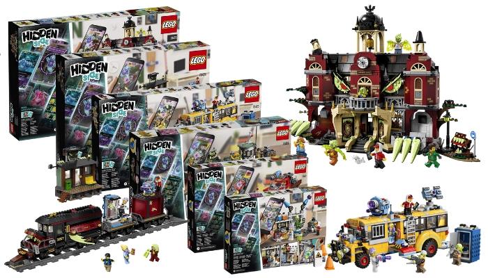 Officiële visuals LEGO Hidden Side