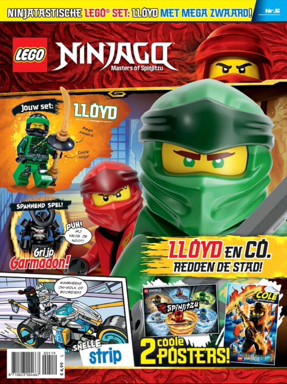 LEGO NINJAGO magazine nummer 5 2019