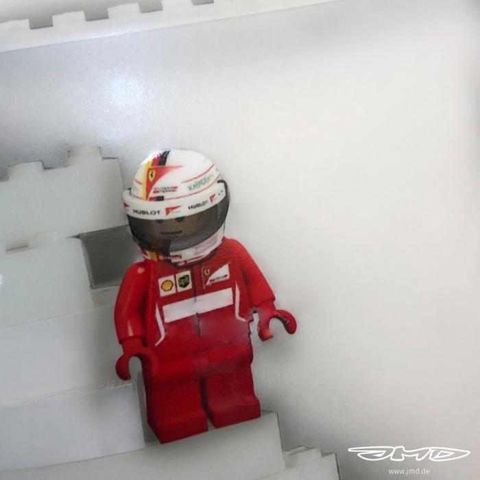 LEGO helm Sebastian Vettel