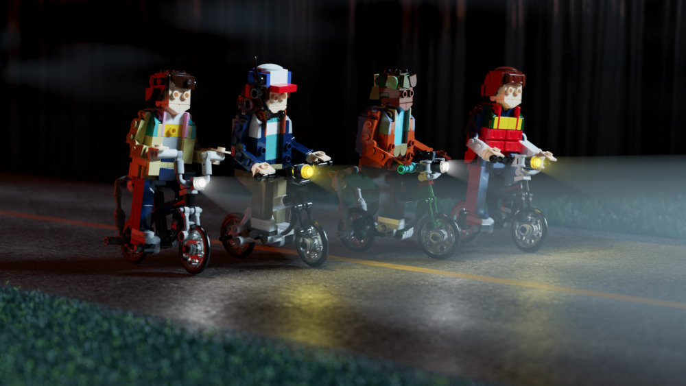 LEGO The Gang on Bikes