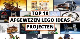 Top 10 afgewezen LEGO Ideas projecten