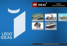 Uitslag derde LEGO Ideas review 2018
