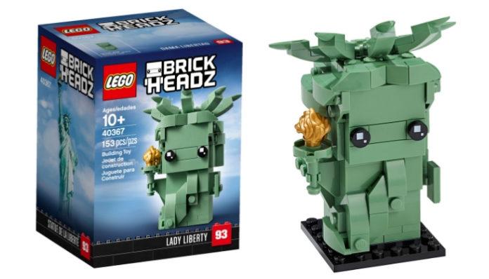 Visuals LEGO BrickHeadz 40367 Lady Liberty