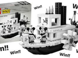 Win een LEGO Ideas 21317 Steamboat Willy