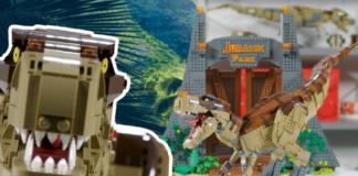 Designer Video LEGO Jurassic World T-Rex Rampage