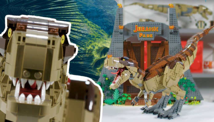 Designer Video LEGO Jurassic World T-Rex Rampage