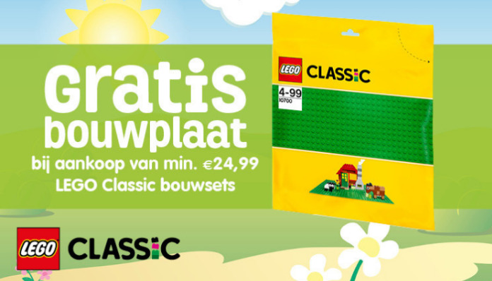 Gratis LEGO Classic Baseplate