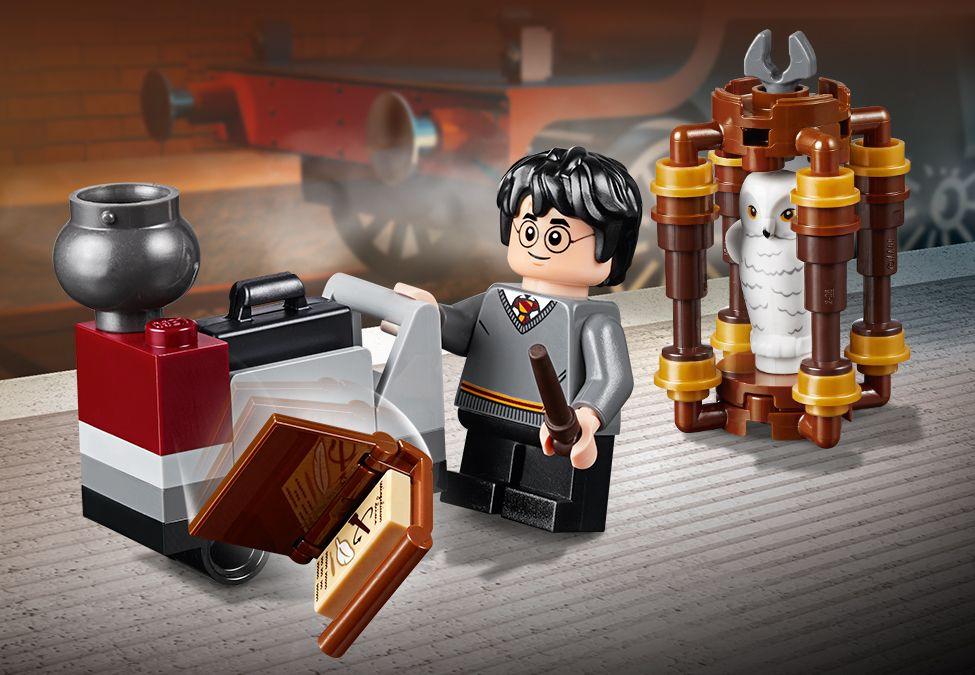 Gratis LEGO Harry Potter 30407 Harry's Journey to Hogwarts