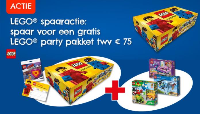 Gratis LEGO pakket spaaractie