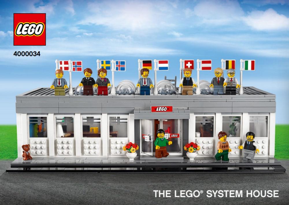 LEGO 4000034 LEGO System House