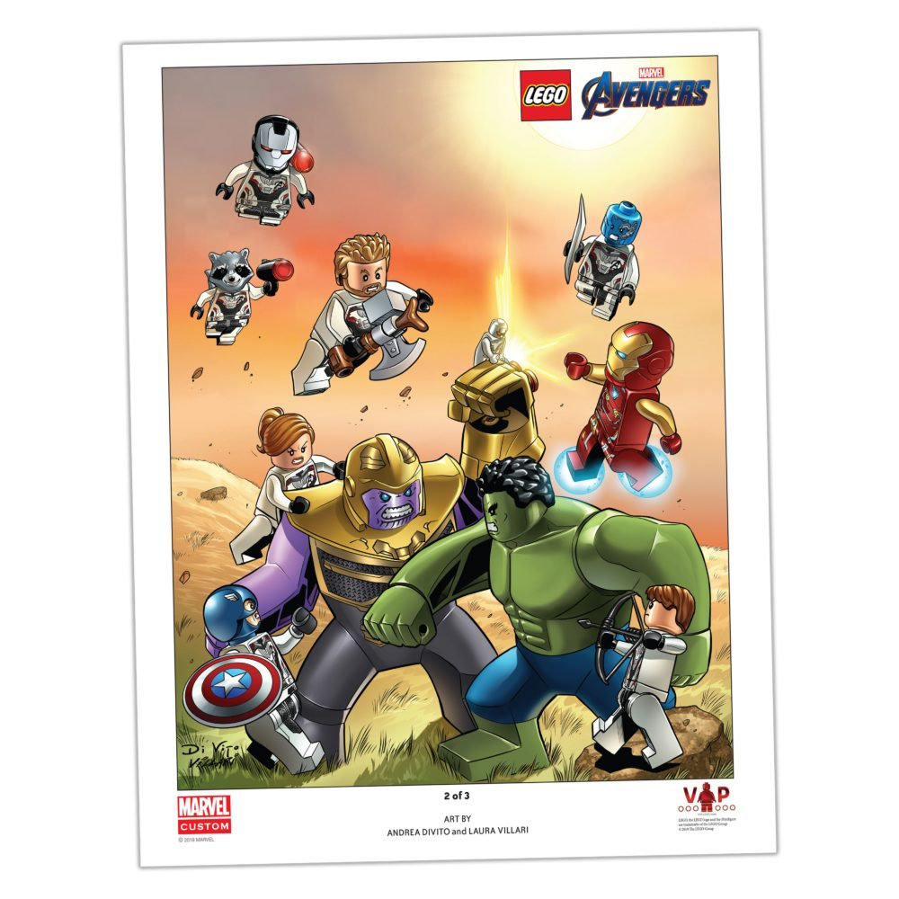 LEGO 5005881 Marvel print 2 of 3