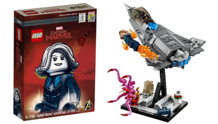 LEGO 77902 Captain Marvel San Diego Comic-Con