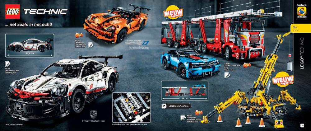 LEGO Technic augustus releases
