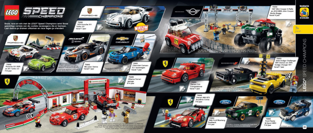 LEGO Speed Champions augustus releases