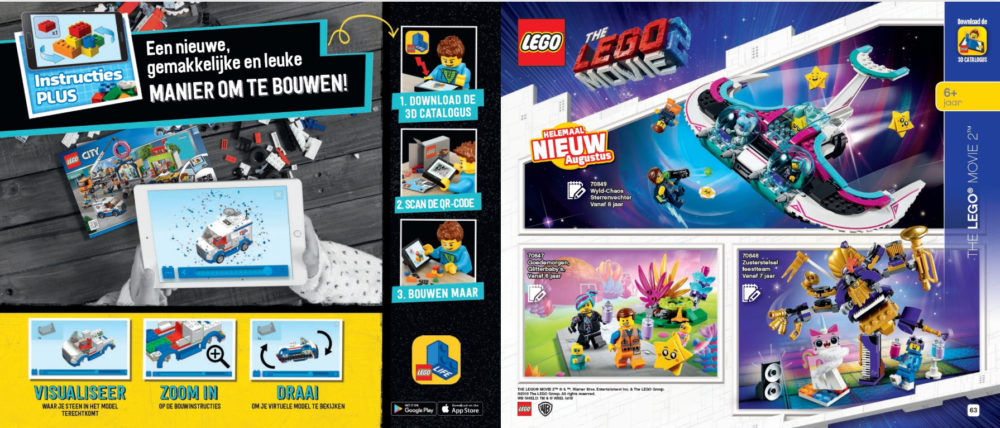 LEGO Movie 2 augustus releases