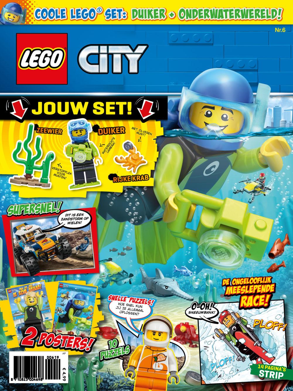 LEGO City magazine nummer 6 2019