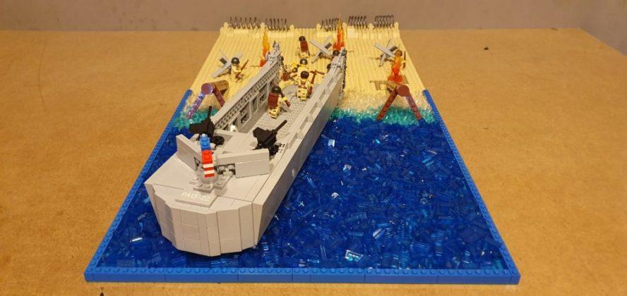 LEGO D-Day door Arjan Schuurman