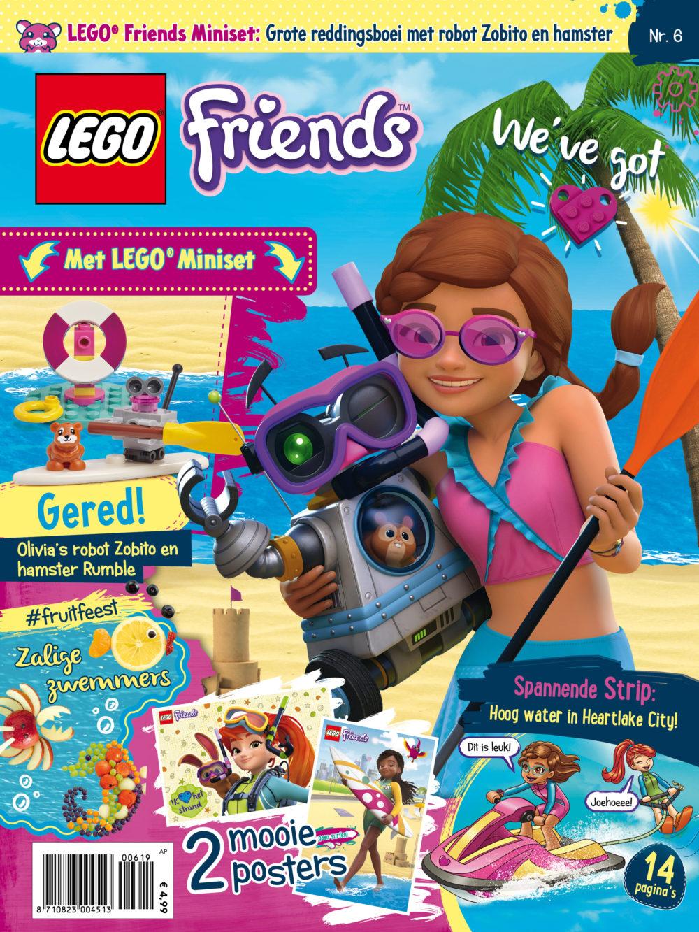 LEGO Friends magazine nummer 6 2019