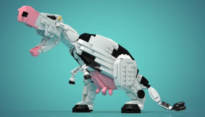 LEGO Genetically Modified Hybrid Dinosaur