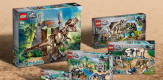 LEGO Genetically Modified Hybrid Dinosaur