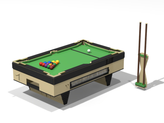 LEGO Ideas Functional Billiards Table