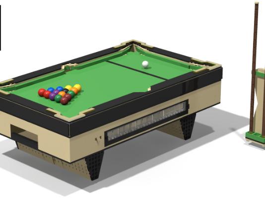 LEGO Ideas Functional Billiards Table