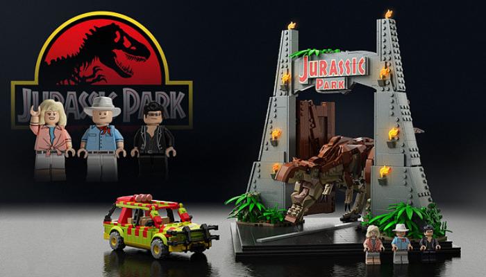 LEGO Ideas Jurassic Park