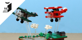 LEGO Ideas Pursuit of Flight bereikt 10.000 supporters