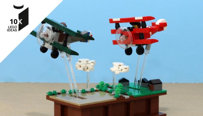 LEGO Ideas Pursuit of Flight bereikt 10.000 supporters