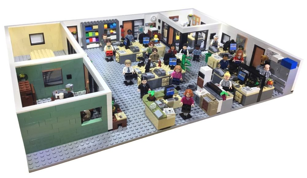 LEGO Ideas The Office bereikt 10K supporters (1)