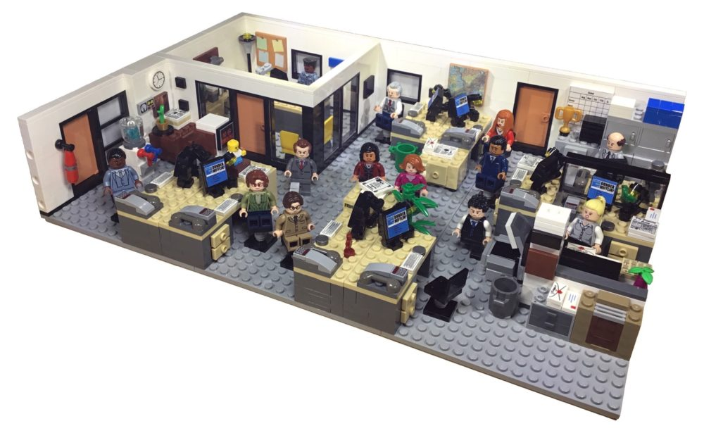 LEGO Ideas The Office bereikt 10K supporters