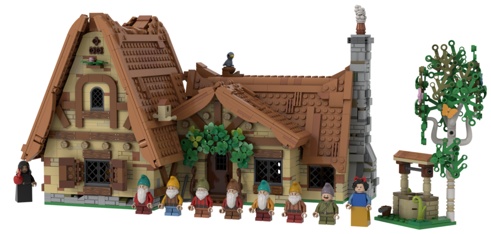 LEGO Ideas The Seven Dwarfs' House