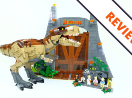 LEGO Jurassic Park T-Rex Rampage