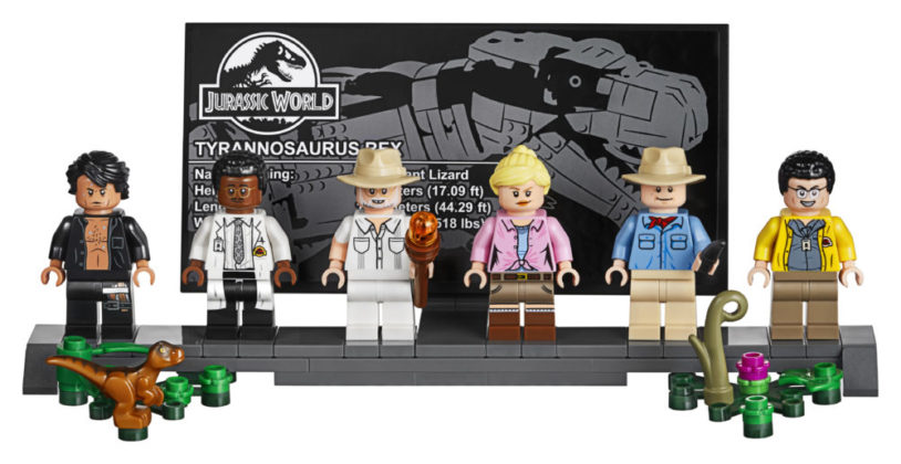 LEGO Jurassic World 75936 Jurassic Park T-rex Rampage - Minifigures