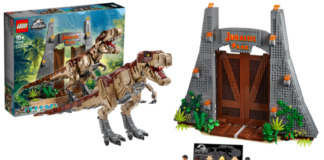 LEGO Jurassic World 75936 T-rex Rampage aangekondigd