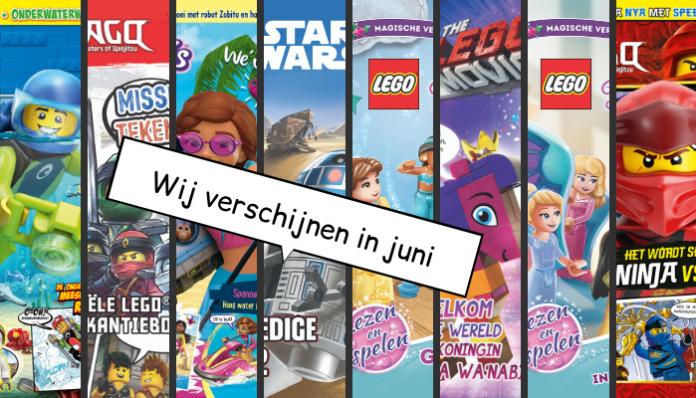LEGO Magazines en boeken juni 2019