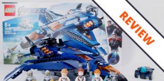 LEGO Marvel 76126 Avengers Ultimate Quinjet