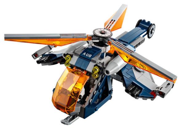 LEGO Marvel 76144 Avengers Hulk Helicopter Drop onthuld