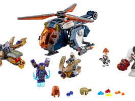 LEGO Marvel 76144 Avengers Hulk Helicopter Drop