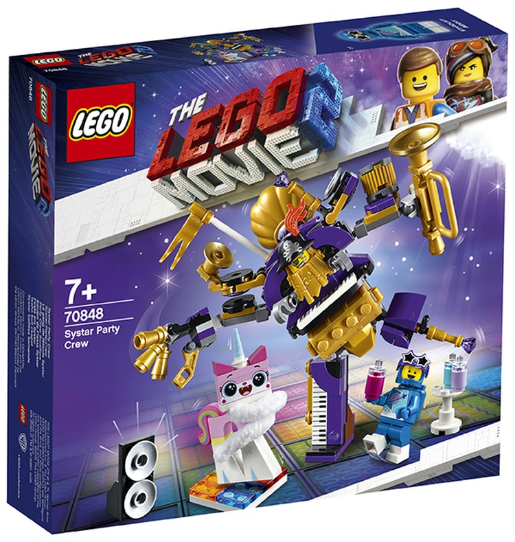 LEGO Movie 2 70848 Systar Party Crew