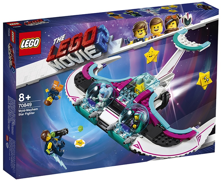 LEGO Movie 2 70849 Wyld-Mayhem Star Fighter